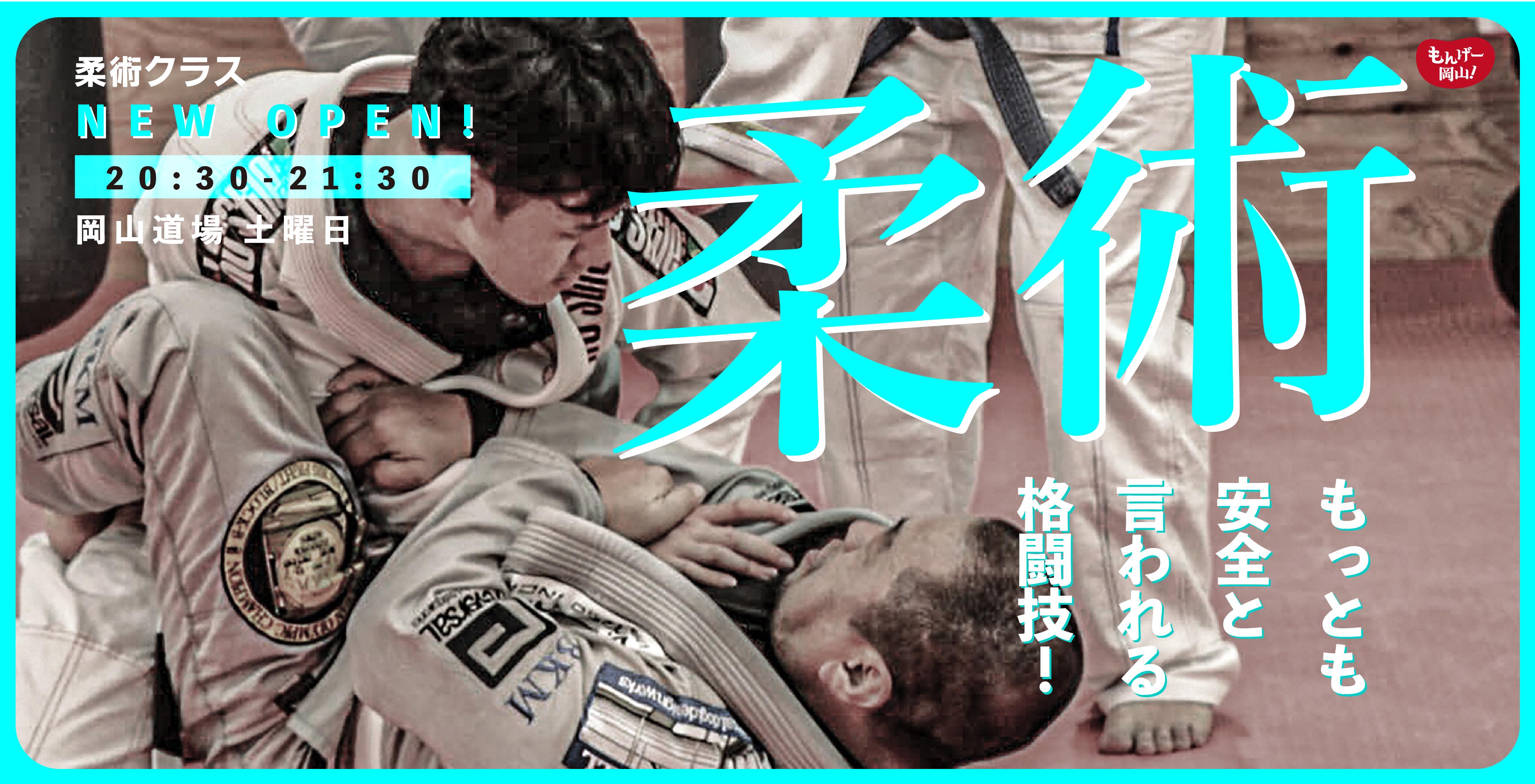 柔術 最も安全と言われる格闘技 柔術クラス登場